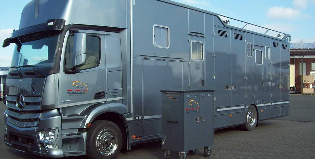 A matching saddle cabinet for your horse transporter